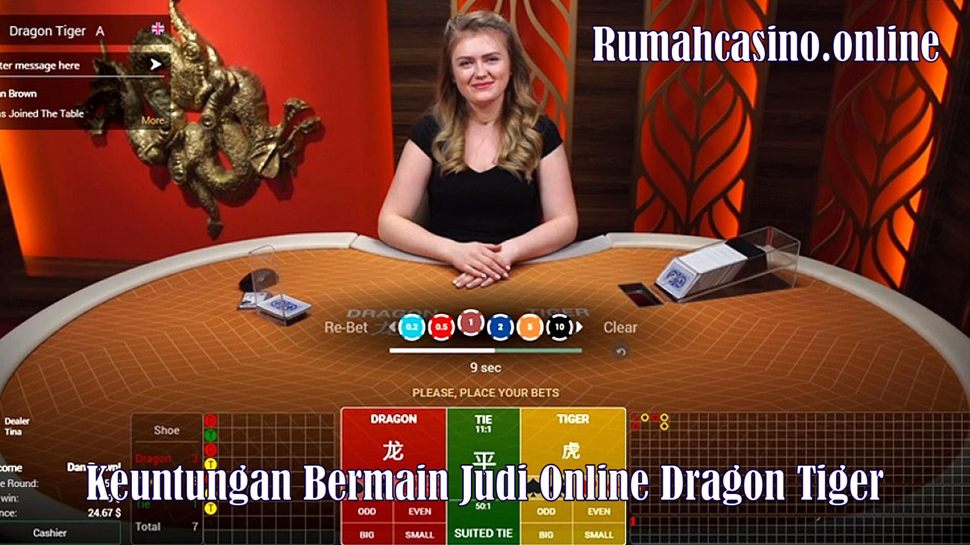 Keuntungan Bermain Judi Online Dragon Tiger