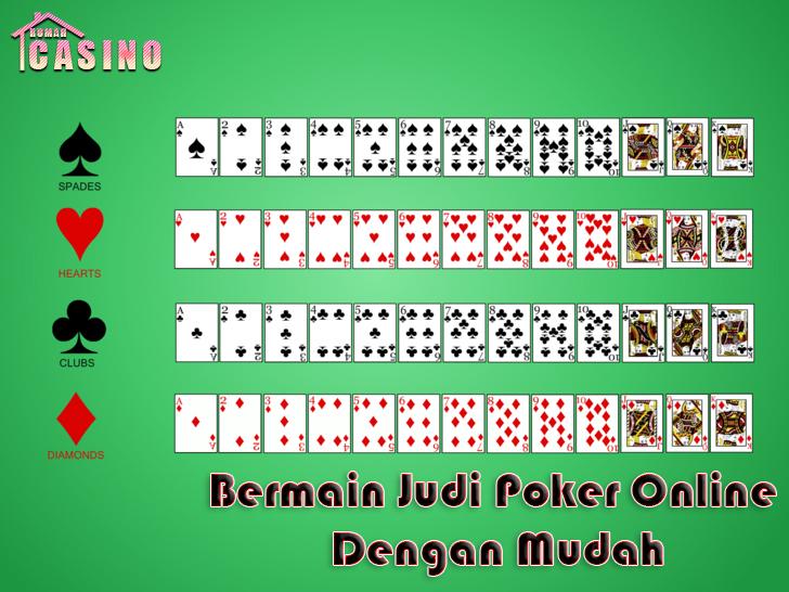 Bermain Judi Poker Online Dengan Mudah